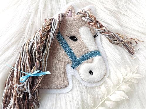 """Aufnäher/Patch Pferd """"Lulu"""" Glitzer"""