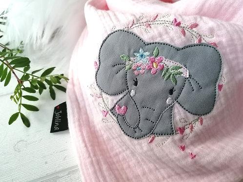 "Halstuch, Dreiecktuch ""Boho Elefant """