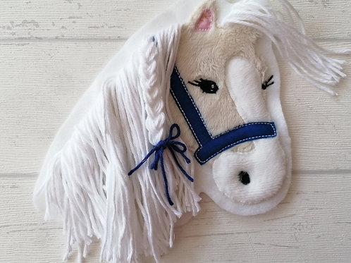 """Aufnäher/Patch Pferd """"Lulu"""" creme/weiß"""