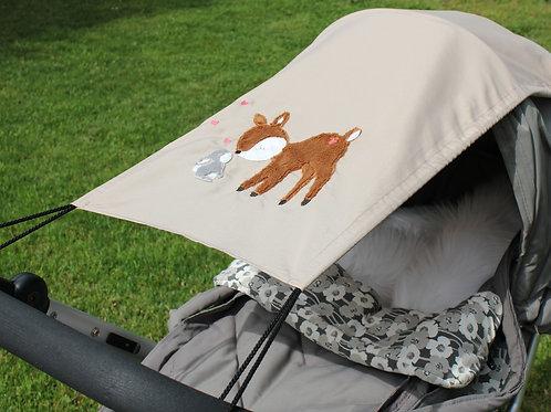 Sonnensegel für Kinderwagen