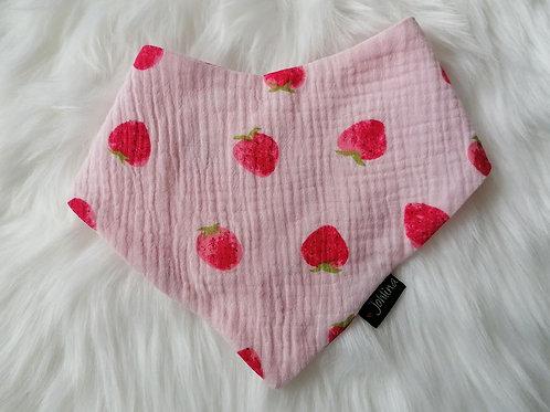 """Wendehalstuch """"Erdbeere"""""""
