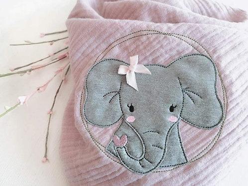 "Halstuch, Dreiecktuch ""❤️ Elefant """