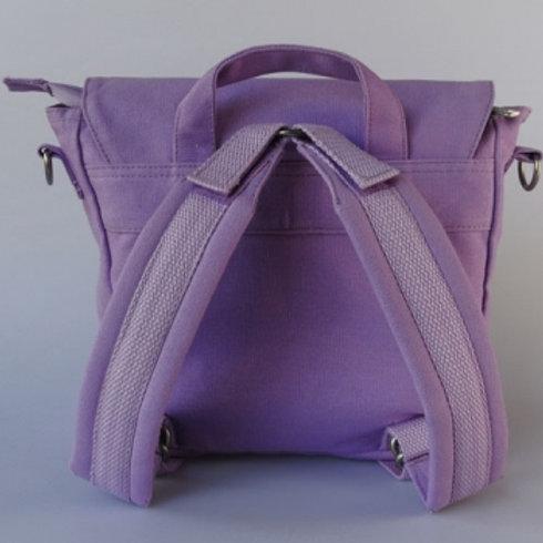 Kindergartentasche flieder (individualisierbar)