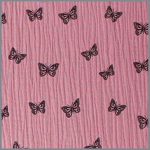 Musselin Halstuch Schmetterling