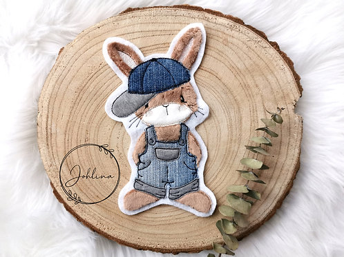 Hase Bo Patch/Aufnäher