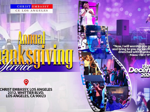 Annual Thanksgiving Service