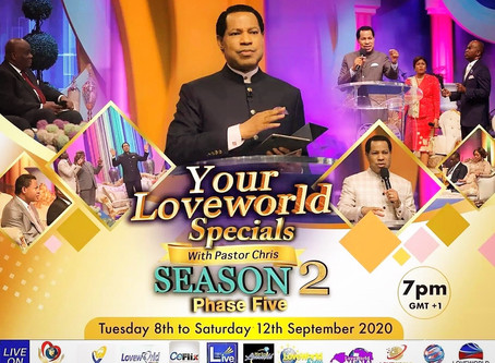YOUR LOVEWORLD WITH PASTOR CHRIS