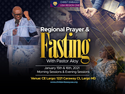 Regional Fasting & Prayer with Pastor Aloy