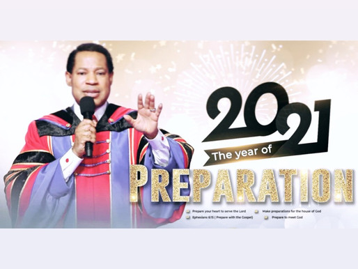 Welcome To The Year of Preparation!