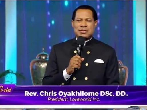 Pastor Chris Quotes