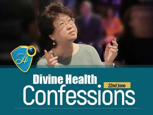 Divine Health Confessions