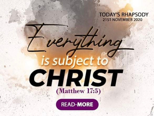 Rhapsody of Realities - Daily Devotional