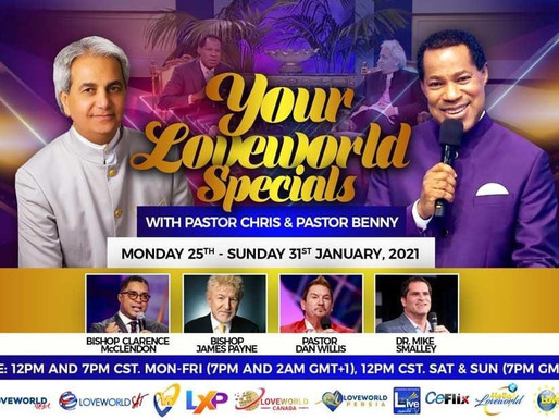 Your Loveworld Specials