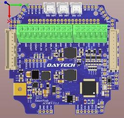 DAYTECH ACORN IoT SmartNode PCB Top Mark
