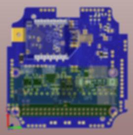 DAYTECH ACORN IoT SmartNode PCB Bottom M