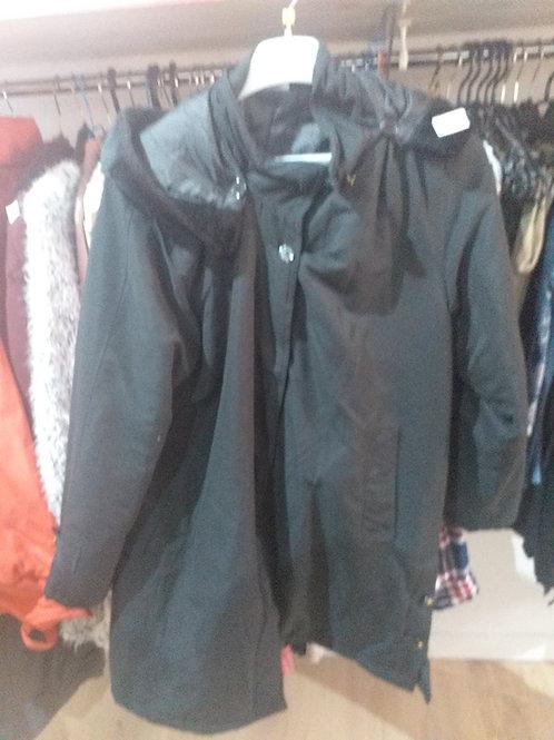 manteau col fourrure ref 1001 prix 7€