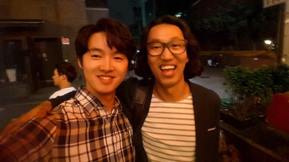 드라마 '유일랍미' 촬영