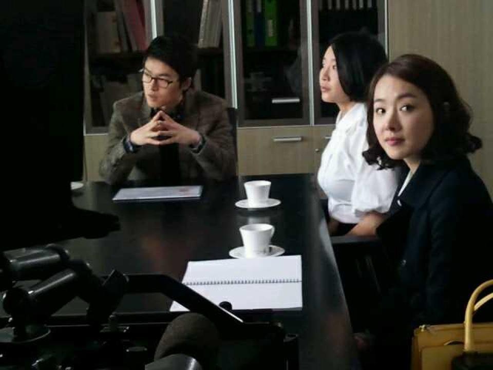 KBS 드라마 '자체발광 그녀' 촬영