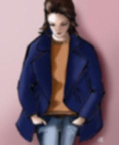 Habile Buston © Back To Basics - Illustration Mode - Le Look du Jour