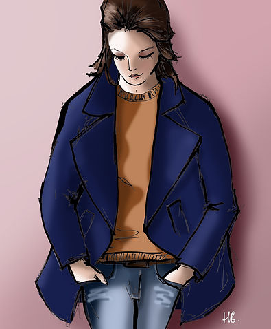 Habile Buston © Back To Basics - Illustration Mode - Le Look du Jour