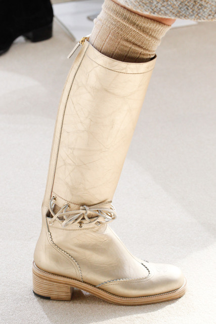Chanel Ready-to-wear, Fall 2016, Boots