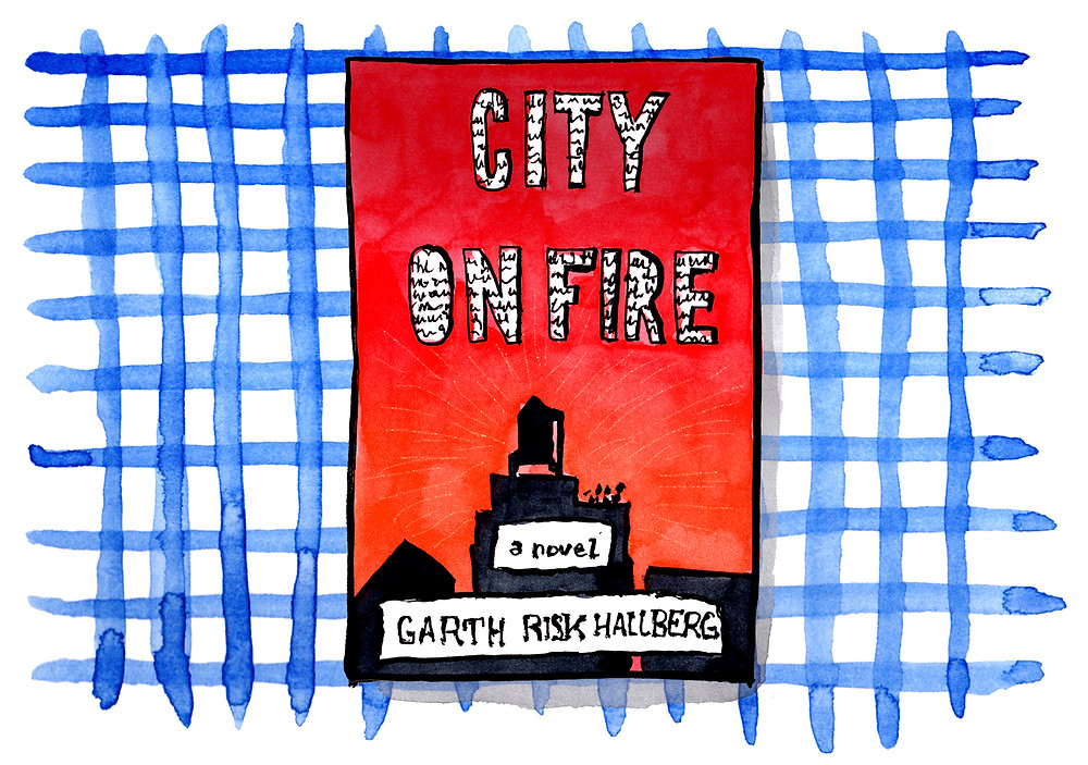 Livre - City on fire, Garth Risk Hallberg - Sélection Littéraire Habile Buston