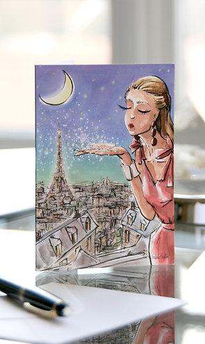 "Carte ""Magical Paris"""