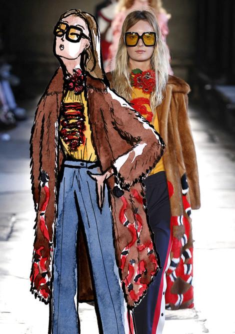 4 looks à retenir du défilé Gucci Croisière 2017