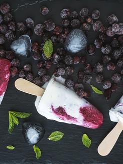 Berries Ice Cream