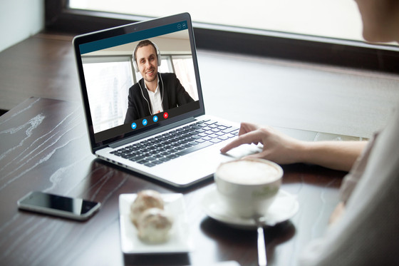 Conducting employee performance reviews remotely