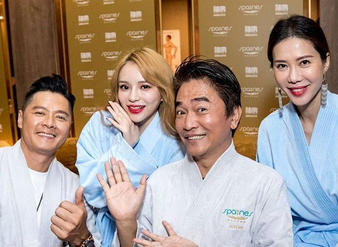 Top celebrities from Taiwan & Singapore