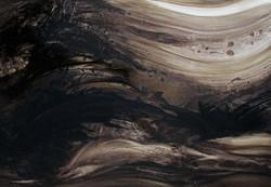 07 - Tsunami - Huile sur toile - 100 x 7