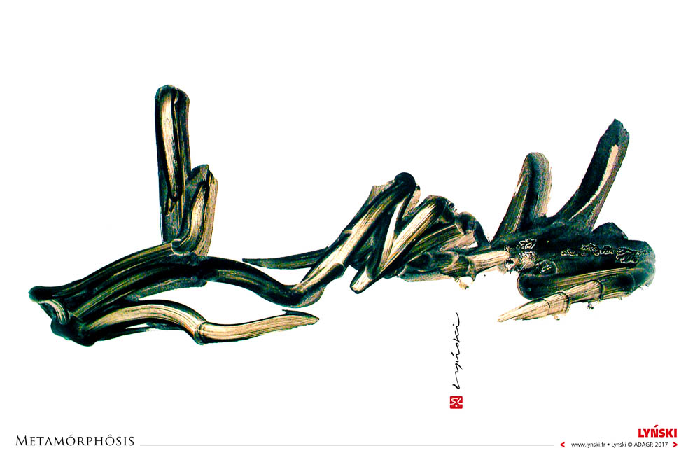 03 - Metamorphosis - Encre et peinture -