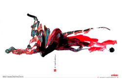04 - Metamorphosis - Encre et peinture -
