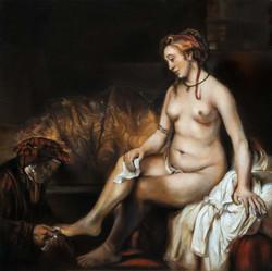 """Rembrandt - """"Betsabée au bain"""""""