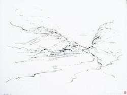 Metalandscape - 05 - Encre indigo sur pa