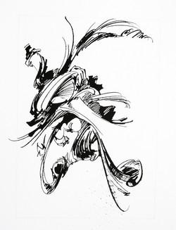 Chrysalide - 04 - Encre sur papier - 30
