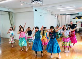 あり余る喜び〜キッズ ポリネシアンダンスクラス