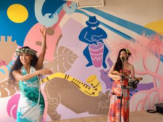 この夏最後の由比ヶ浜アミューズシーサイドカフェハワイアンLiveショー