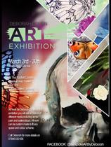 Art exhibition flyer