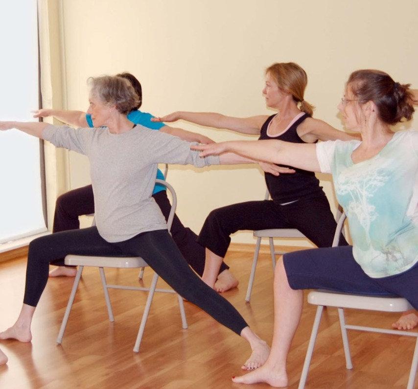 Wednesday Online Chair Yoga