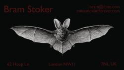 Bram Stoker Card