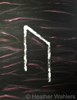 Uruz Rune Painting