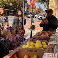 Farmers Market apple