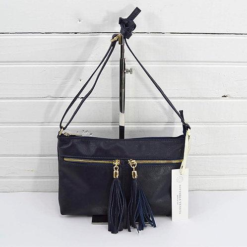 Vittoria Veneta Tassel Cross Body Bag #163-17
