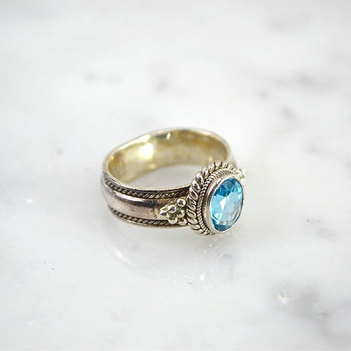 Sterling Silver Ring #163-10