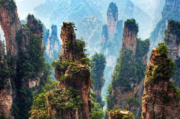 China - Paisajes de Avatar 10 dias / 9 noches Precio desde: 2.590€