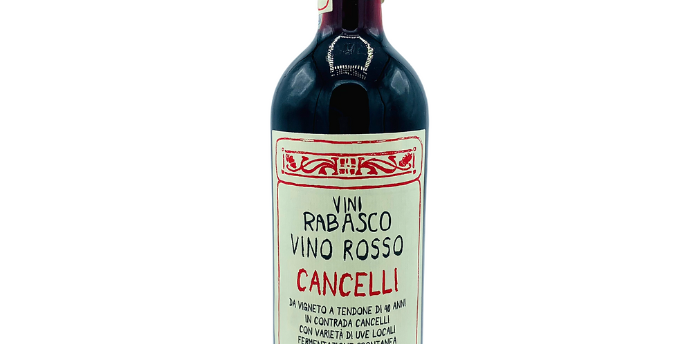 Societa Agricola Rabasco- CancelIi Rosso 2019