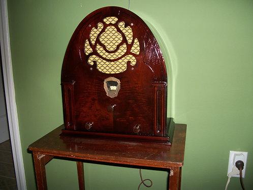 1936 Glaritone Am Radio Receiver