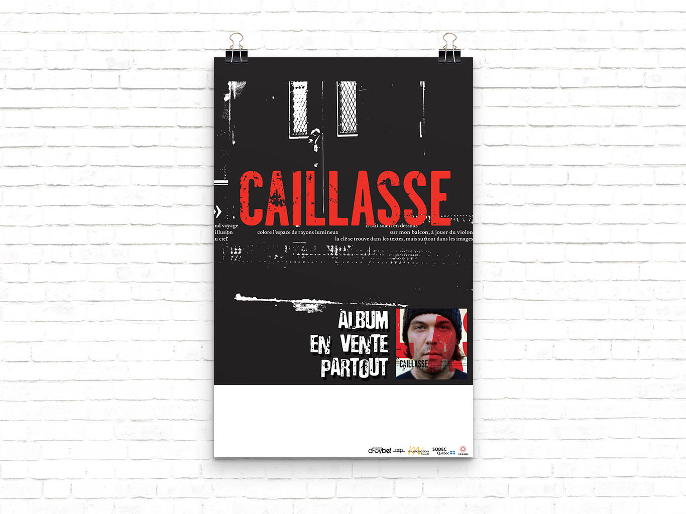 Affiche Caillasse